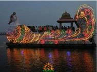 Vijayawada Teppotsavam on Dasara 6