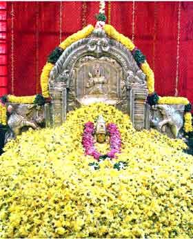 Pushpayagam at Kanakamahalakshmi Temple Vizag no-watermark