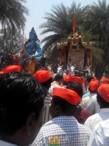 15 Hyderabad Ram Navami Shobha Yatra 2015