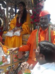 16 Hyderabad Ram Navami Shobha Yatra 2015