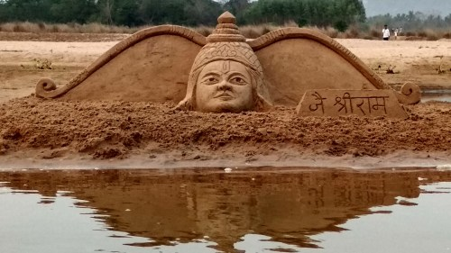 Sri rama Navami 2018 Sand Sculpture 2 no-watermark