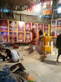 Making of Khairatabad Ganesh 2015 1