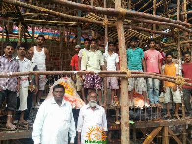 Making of Khairatabad Ganesh 2015 15