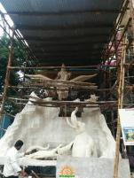 Making of Khairatabad Ganesh 2015 23