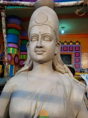 Making of Khairatabad Ganesh 2015 4