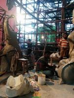 Making of Khairatabad Ganesh 2015
