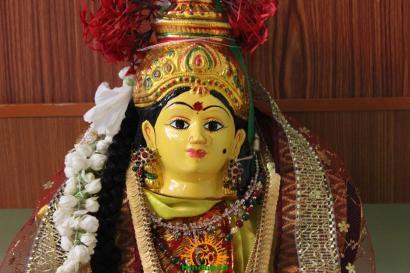 Varalakshmi Vratham Decoration design 9