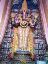 82 feet gajuwaka ganpati idol 2015 2