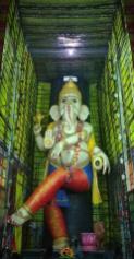 Biggest Ganesh idol at Vijayawada 2015