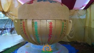 Biggest Laddu for Gajuwaka Ganesha 2015 2