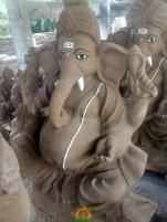Clay Ganesha idol 2
