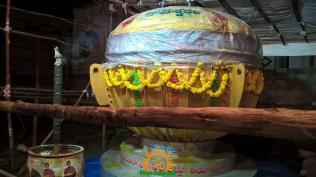 Gajuwaka Ganapathi Laddu 2015 Tapeshwaram