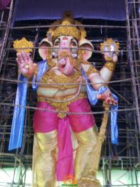 Gajuwaka Ganapathi Statue 2015 1