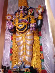 Gajuwaka VISWA Ganapati idol 82 feet