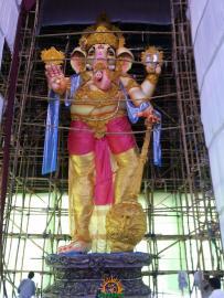 Gajuwaka biggest Ganesh idol 2015