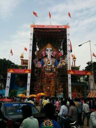 Khairatabad Ganesh 2015 full size idol image