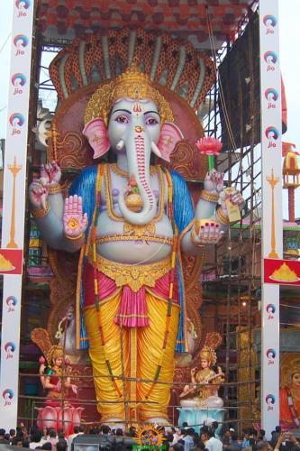 Khairatabad Ganesh 2015 idol image