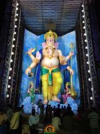 72-feet Ganapathi idol 2016 8 at Vijayawada Tallest