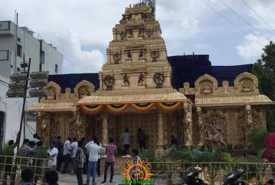 Balapur Ganesh 2016 setting 16