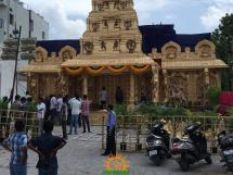 Balapur Ganesh 2016 setting 4