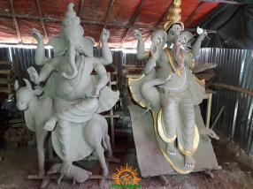 Clay Ganapathi 2 in Hyderabad
