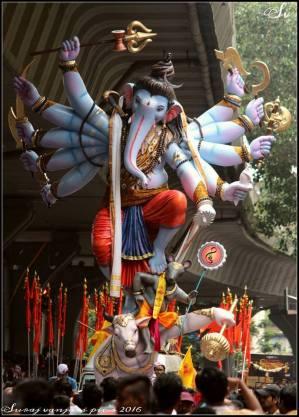 Mumbai Cha Raja Padhyapoojan Sohla 2018 Ganesh Galli