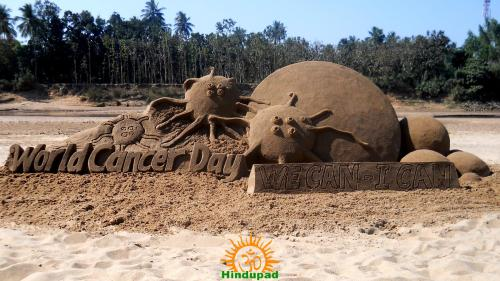 Sand-Sculpture-for-World-Cance-Day-0480