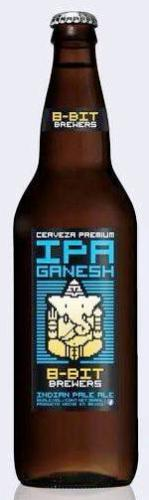 Ganesh IPA by 8-Bit Brewers, Baja California, Mexico no-watermark