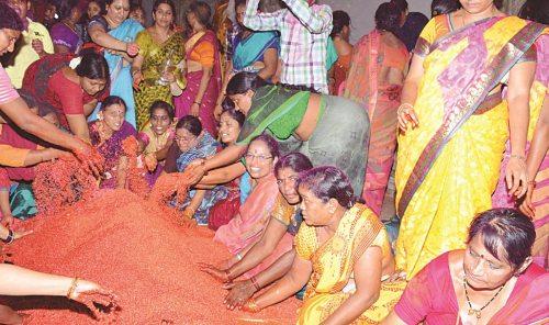 Muthyala Talambralu Preparation Bhadrachalam no-watermark