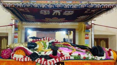 Athivaradar sleeping posture