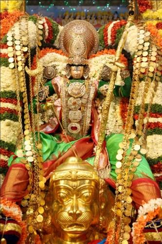 Hanumantha Vahanam in TTD Brahmotsavam