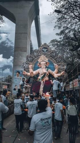 Kumbharwada Cha Raja 2019 aagman sohala 1
