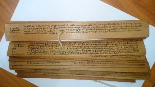 Palm-leaf Manuscripts
