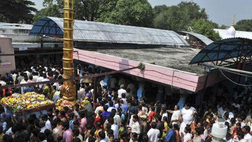 Pradakshina in Chilkur Temple