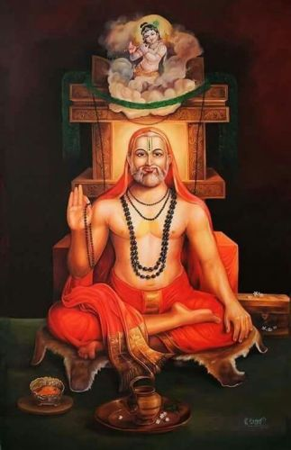 Raghavendra Swamy Lord Krishna