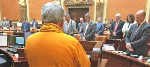Reading invocation at Utah House of Representatives_ Salt Lake City_ March 13, 2019
