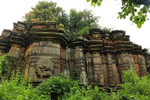 Ruins of Hindu Temple destruction