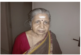 Saraswati Ammal Triplicane Chennai