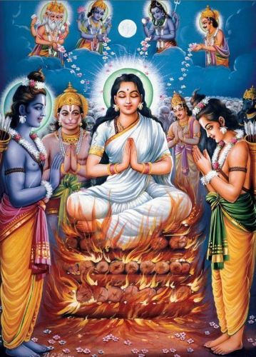 Sita Agni Pravesh