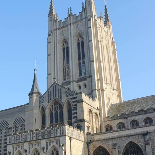 St Edmundsbury Cathedral, Suffolk, England.