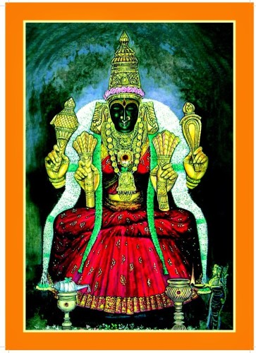 devi kamakshi Kanchi Kamakoti Peetham