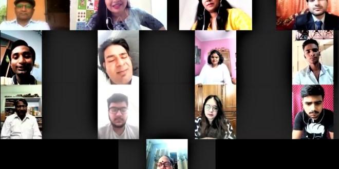 एकलव्यम क्रिएशन के द्वारा 'काव्य कार्नर ' की एक और सफल अखिल भारतीय काव्य गोष्ठी - ऑनलाइन क्रिएटिव मीट