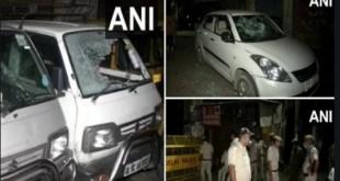 दिल्ली क्राइम न्यूज़: आधी रात को हुई फायरिंग, गाड़ियों में जमकर तोड़फोड़; खौफ से घरों में बंद रहे लोग