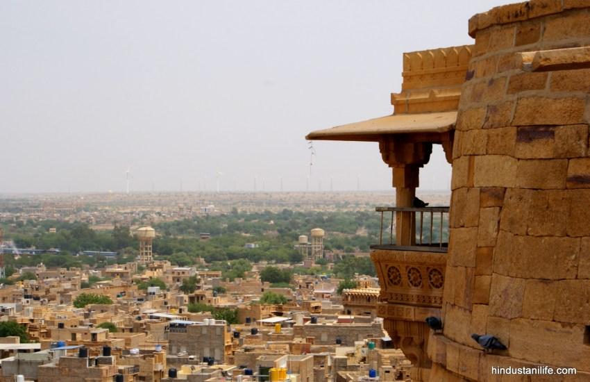 Jaisalmer - Inside the fort views