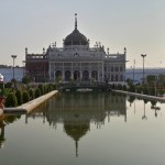 Chhota Imambara - I was trying to get the famous Taj Mahal Shot, with the reflection in the water.
