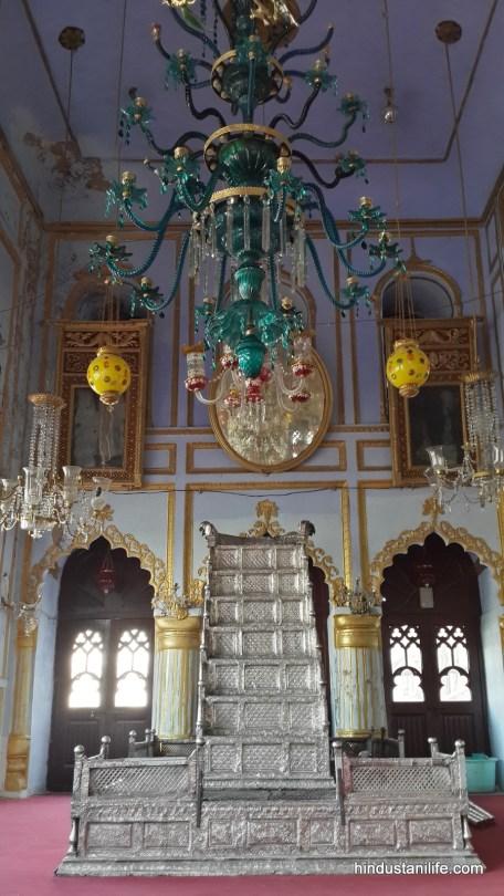 Chhota Imambara - Kings Throne - Lucknow