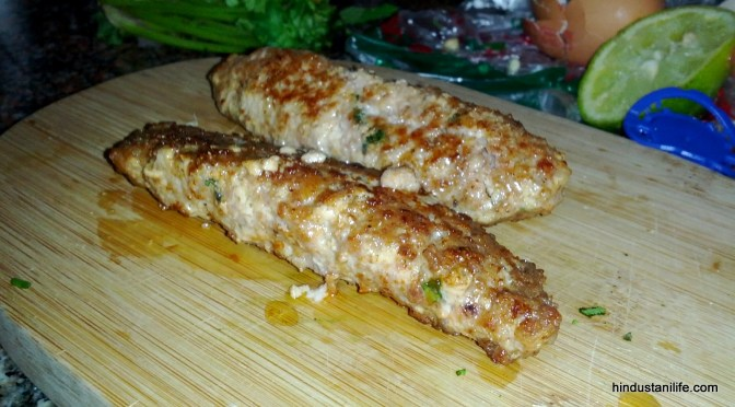 How to make Chicken Seekh Kebabs