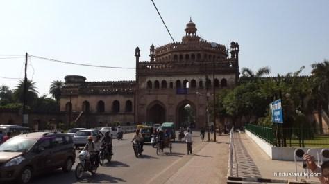 Rumi Darwaza (back) - Lucknow