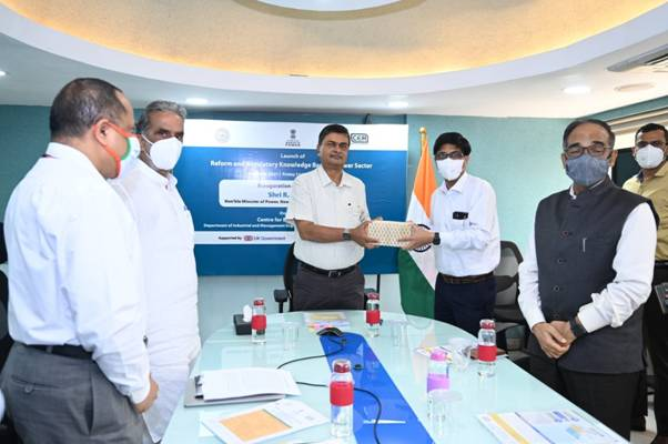 """Power Minister Launches """"Reform and Regulatory Knowledge base for Power Sector"""""""