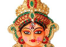Durga Maa Pic Only Face